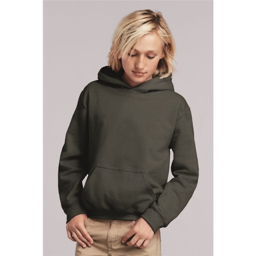 Gildan Heavy Blend Youth Hooded Sweatshirt - 18500B