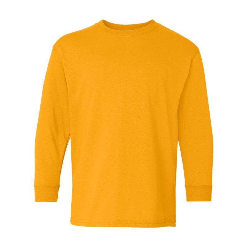 Gildan Heavy Cotton Youth Long Sleeve T-Shirt - 5400B
