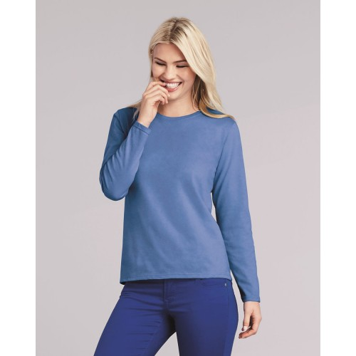 Gildan Heavy Cotton Women's Long Sleeve T-Shirt - 5400L